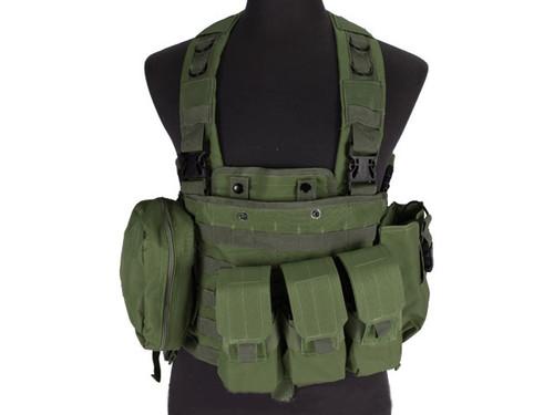 Defcon Commando Chest Rig - OD Green