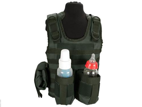 Matrix Tactical Systems Baby CIRAS Tactical Vest - OD Green