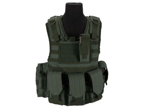 Matrix Tactical Systems Junior Size CIRAS Tactical Vest - OD Green