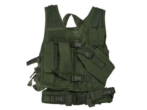 NcStar VISM Children's Tactical Vest - Green
