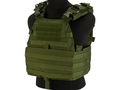 TMC EG Assault Plate Carrier - OD Green