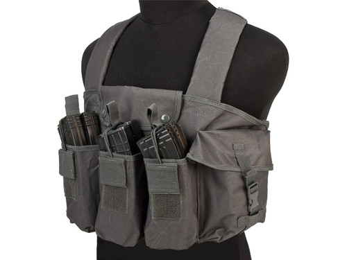VISM / Nc Star Tactical AK Chest Rig - Urban Grey
