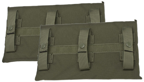 Avengers MOLLE Side Panel for JPC Series Airsoft Plate Carriers - Large / Ranger Green