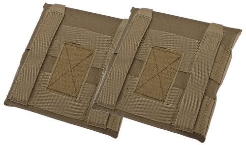 Avengers MOLLE Side Panel for JPC Series Airsoft Plate Carriers - Small  Coyote Brown