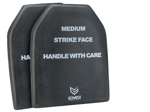 "EMG Professional Training EVA Dummy SAPI Plate Set (9""x12"") - Set of 2"