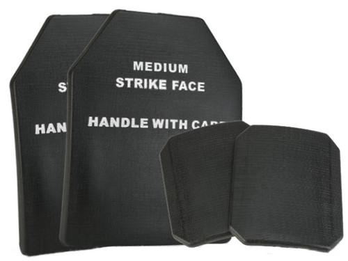 Matrix TMC 4 pcs Replica SAPI Dummy Ballistic Plate Set (Front, Back, & Sides) - Black