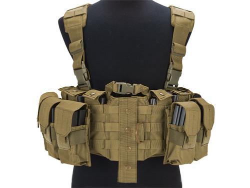 Avengers MOLLE Tactical Assault Vest - Tan