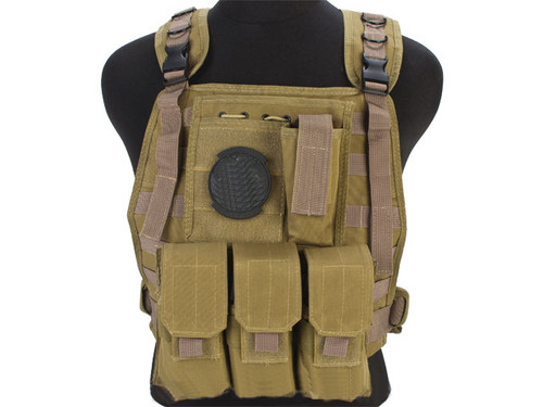 Avengers Tactical Spec. OPS MOLLE Plate Carrier / Load Bearing Vest - Tan