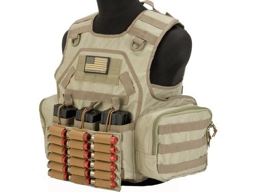 Matrix MTS Commando / Infantry Ammo Vest - Tan
