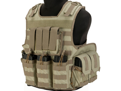 Matrix MTS Small Arms Light Assaulter Vest - Tan