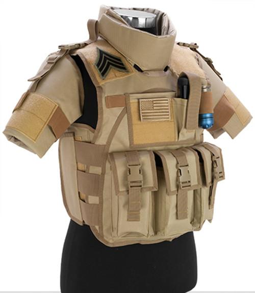 Matrix S.D.E.U. Ultra Light Weight Airsoft Tactical Vest - (Tan)