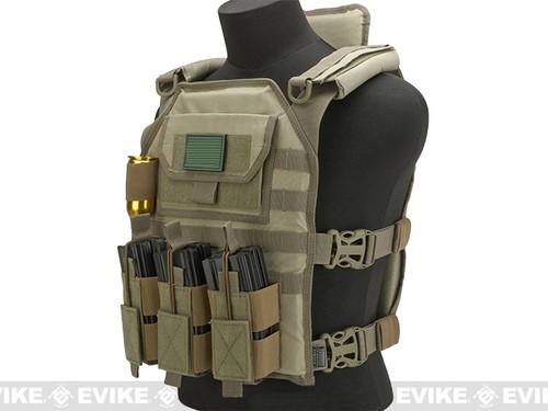 Matrix Skeletal Force High Speed Tactical Vest - Tan