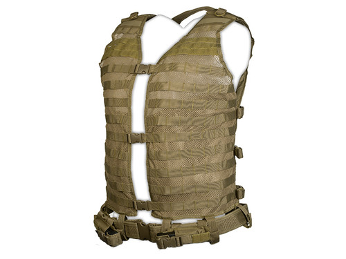 NcStar MOLLE Load Bearing Vest 2XL - Tan