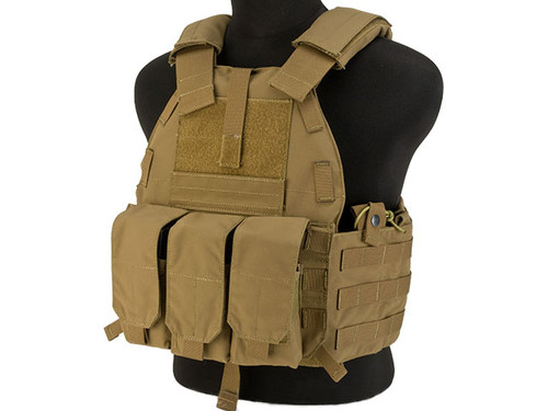 TMC 94K-M4 Plate Carrier - Coyote Brown