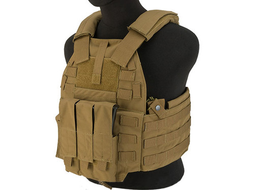 TMC 94K-MP7 Plate Carrier - Coyote Brown