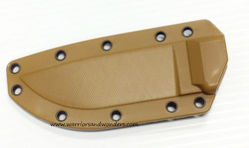 ESEE-4 Molded Sheath without Clip Plate - Coyote Brown