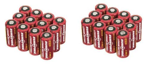 SureFire 24 123A Batteries 2 x 12 Pack
