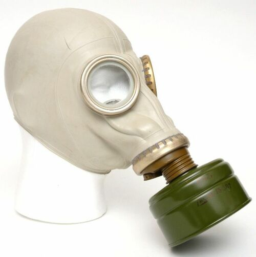 Gas Mask - Russian Military Issue - GP5 - Adult