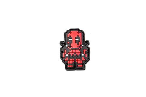 Aprilla Design PVC IFF Hook & Loop Patch - 8-Bit Deadpool