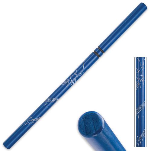 Blue Dragon Hardwood Escrima – Fighting Stick