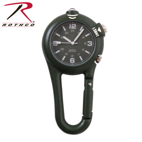 Clip Watch w/LED Light