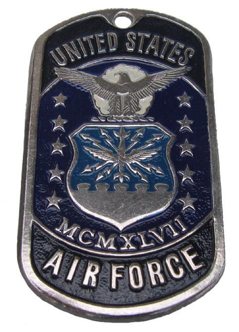 "Dog tag  - United States Military MCMXLVII ""U.S. AIR FORCE"""
