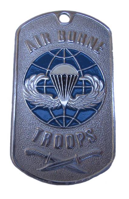Dog tag  - U.S. Army Military  AIRBORNE TROOPS