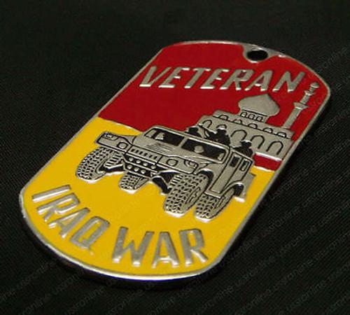 Dog tag  - Iraq War Veteran