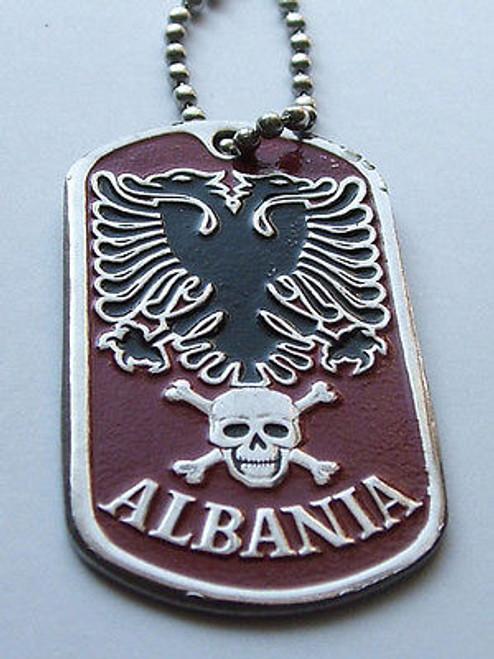 Dog tag  - Albania State Crest