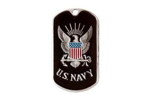 Dog tag  - U.S. Navy Black