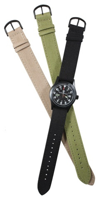 Smith & Wesson Military Watch Set - Black Watch Face