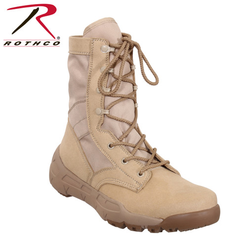 Rothco V-Max Lightweight Tactical Boot Desert Sand