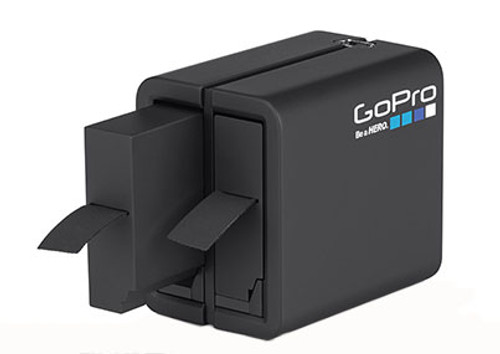 GoPro Dual Battery Charger w/ Extra Battery for HD HERO4 Professional Wearable Cameras