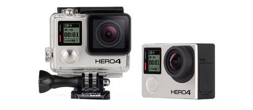 GoPro HD HERO4 Professional Wearable HD Camera - Black Edition