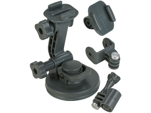 Matrix Suction Cup Mount for GoPro Series Cameras - Grey