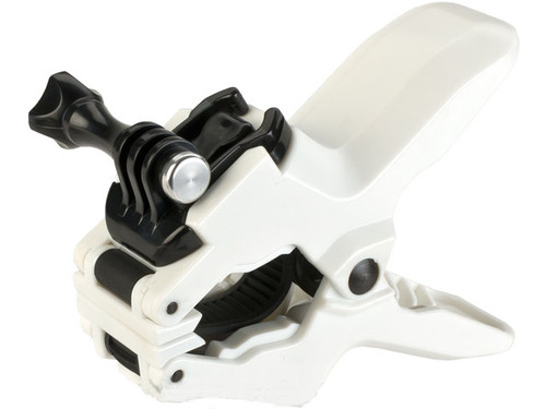 TMC Flex Jaws Clamp Mount for GoPro Series Cameras - White