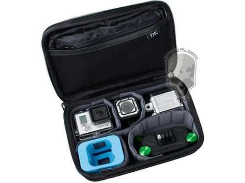 TMC Padded Zippered Case for GoPro Action Cameras - Black