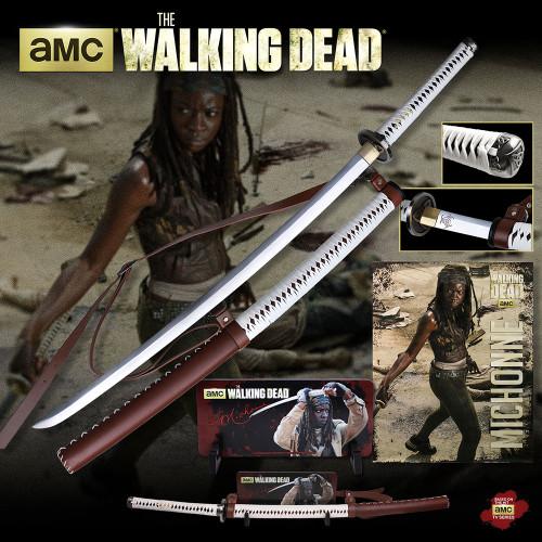 The Walking Dead WD001WS Michonne's Sword w/ Wall Mount