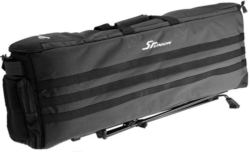 SRU Gen. 2 Rapid Deployment Case (RDC) Self-Deploying Rifle Range Caddy Bag(Color: Black)