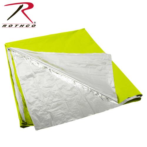 Rothco Polarshield Survival Blanket - Safety Green