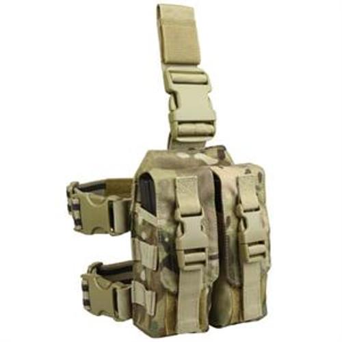 Condor Drop Leg M4 Mag Pouch - Multicam