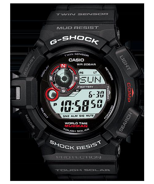 G Shock G9300-1 Mudman Solar with Compass
