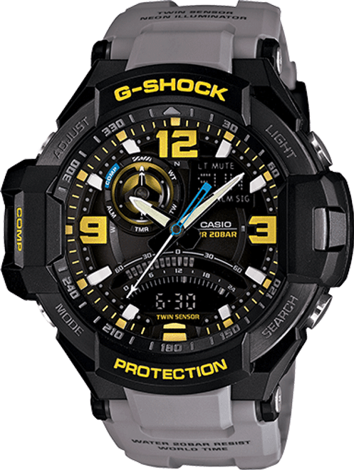 G Shock GA1000-8A Aviation Series with Compass