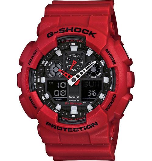 G Shock GA100B-4A X Large Series