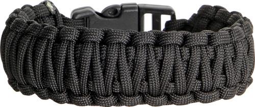 Knotty Boys 101 Paracord Bracelet Black - Large