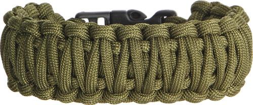 Knotty Boys 102 Paracord Bracelet OD Green - Large