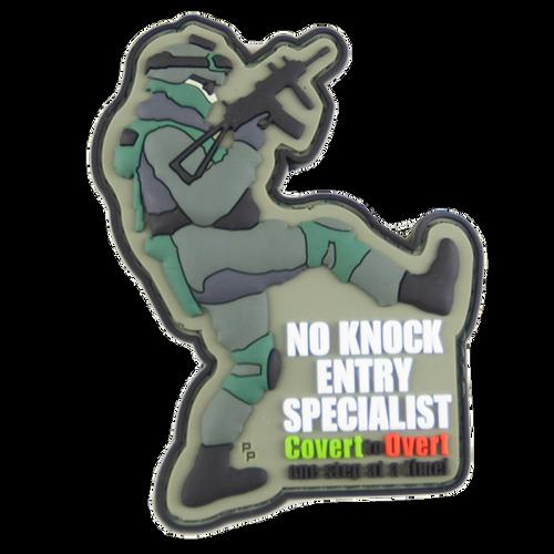 No Knock Entry Specialist - PVC - Morale Patch