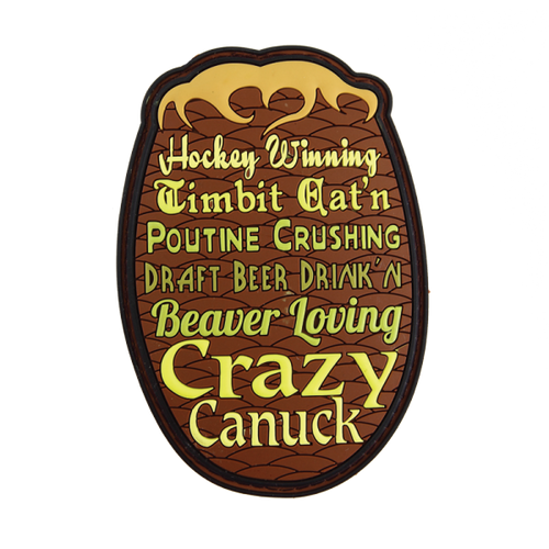 Timbit Crushin' Crazy Canuck - Morale Patch