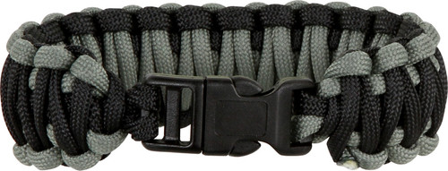 Knotty Boys 108 Paracord Bracelet Black/Foliage Green - Large