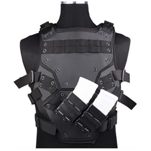 PVC Tactical Vest Black